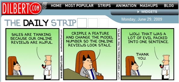 Dilbert Comic Strip
